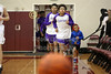 The Teams Take the Court - Pickerington High School Central Tigers at New Albany High School Eagles - Tuesday, January 24, 2017