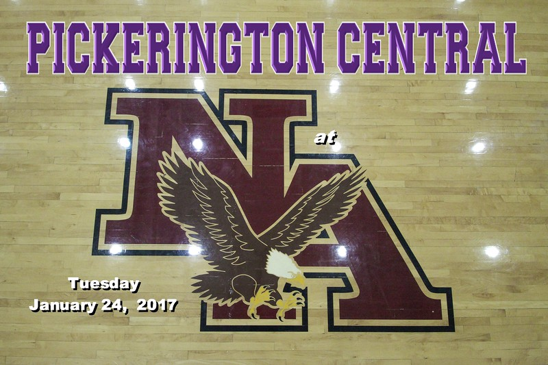 Pickerington High School Central Tigers at New Albany High School Eagles - Tuesday, January 24, 2017