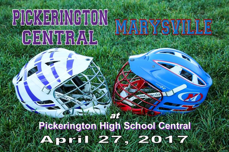 Marysville High School Monarchs at Pickerington High School Central Tigers - Thursday, April 27, 2017
