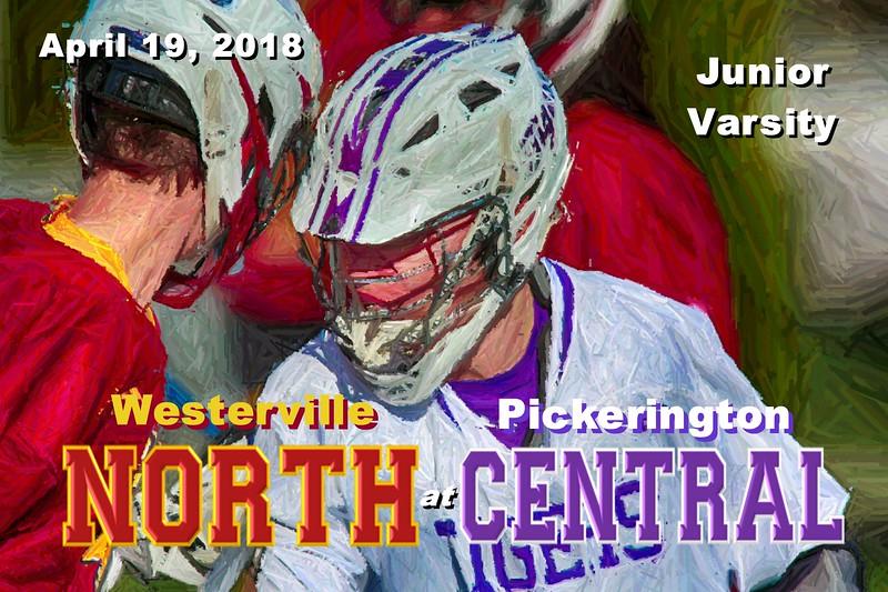 Westerville North High School Warriors at Pickerington High School Central Tigers - Junior Varsity - Thursday, April 19, 2018
