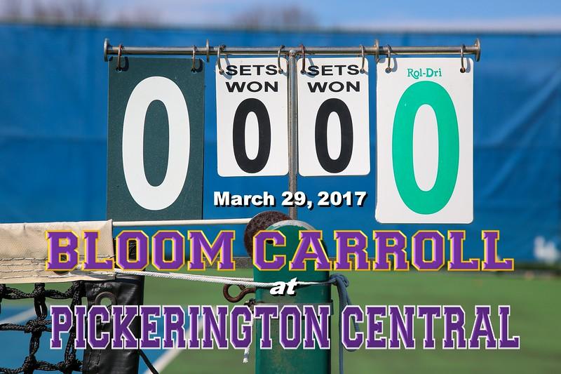 Bloom Carroll High School Bulldogs at Pickerington High School Central Tigers - Wednesday, March 29, 2017