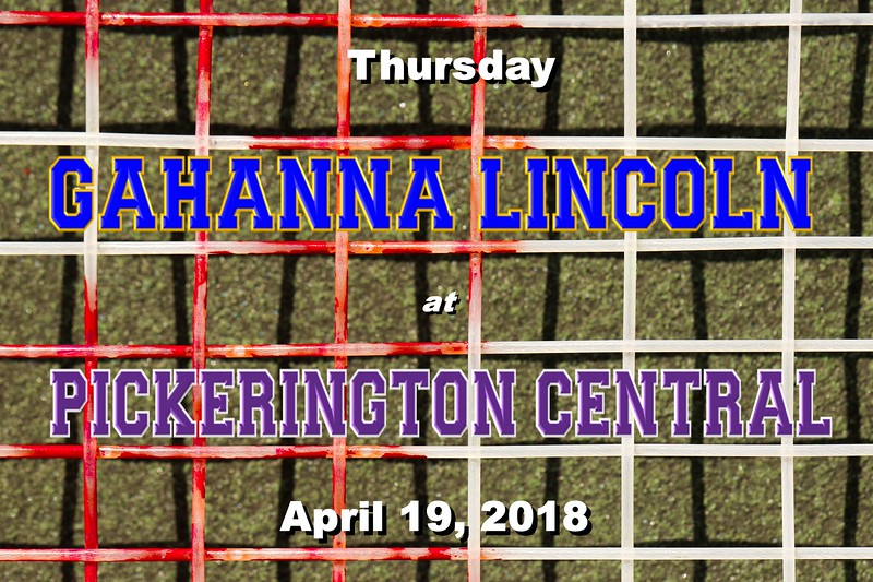 Gahanna Lincoln High School Lions at Pickerington High School Central Tigers - Thursday, April 19, 2018