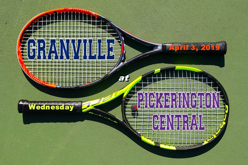Granville High School Blue Aces at Pickerington High School Central Tigers - Wednesday, April 3, 2019