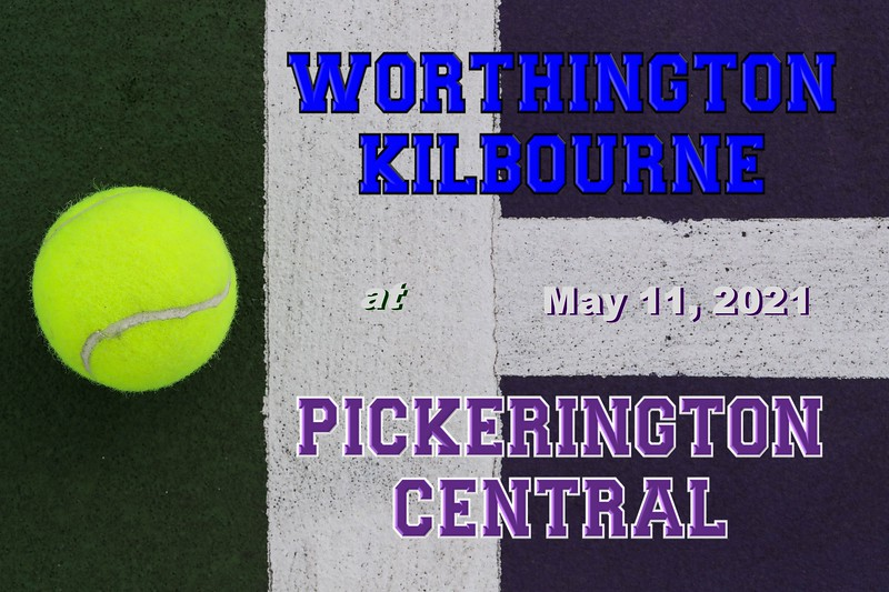 Worthington Kilbourne High School Wolves at Pickerington High School Central Tigers - Tuesday, May 11, 2021