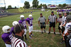 Team Captains and the Coin Toss - 8th Grade - Pickerington Middle School North Panthers at Pickerington Middle School Central Tigers - Thursday, September 15, 2016