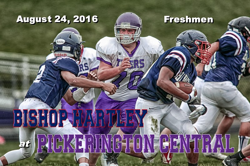 Columbus Bishop Hartley High School Hawks at Pickerington High School Central Tigers - Wednesday, August 24, 2016