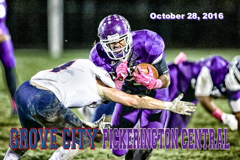 Grove City High School Greyhounds at Pickerington High School Central Tigers - Senior Night - Friday, October 28, 2016