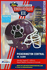 Game Promotional Poster - 2016 Skyline Crosstown Showdown in Cincinnati, Ohio - Pickerington High School Central Tigers versus Cincinnati Elder High School Panthers - Saturday, August 27, 2016
