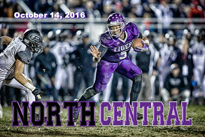 Pickerington High School North Panthers at Pickerington High School Central Tigers - Friday, October 14, 2016