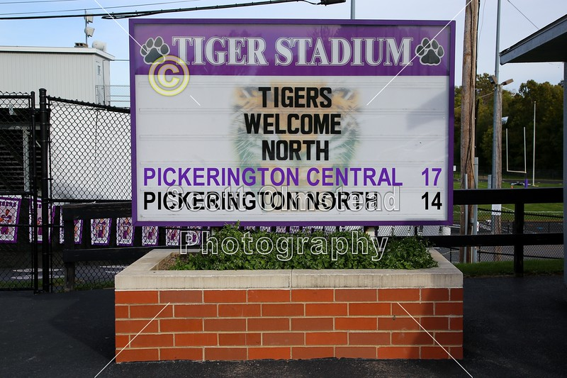 Final - Pickerington High School North Panthers at Pickerington High School Central Tigers - Friday, October 14, 2016