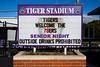 Senior Night - Independence High School 76ers at Pickerington High School Central Tigers - Friday, September 2, 2016