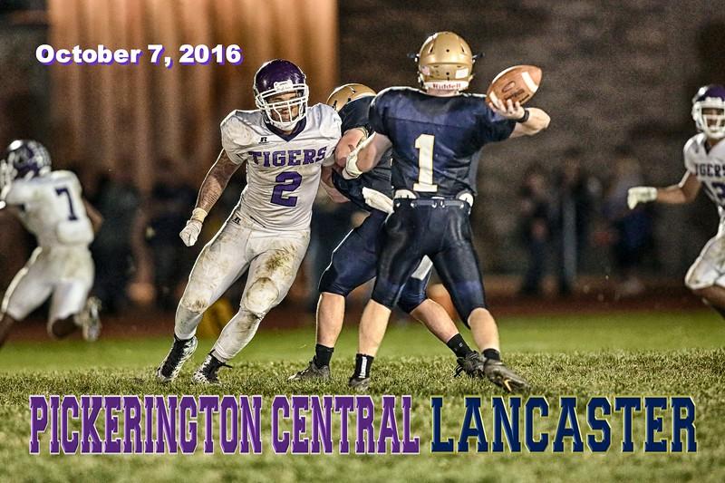 Pickerington High School Central Tigers at Lancaster High School Golden Gales - Friday, October 7, 2016