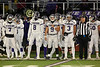 Team Captains and the Coin Toss - Ohio High School Athletic Association Playoff Quarter Finals - Pickerington High School Central Tigers versus Pickerington High School North Panthers - Game played at St. Francis DeSales High School - Friday, November 17, 2017