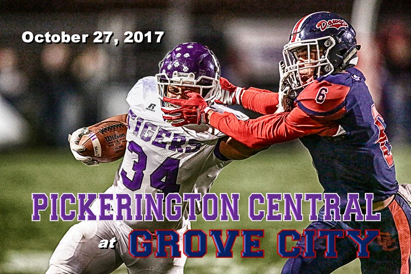 Pickerington High School Central Tigers at Grove City High School Greyhounds - Friday, October 27, 2017