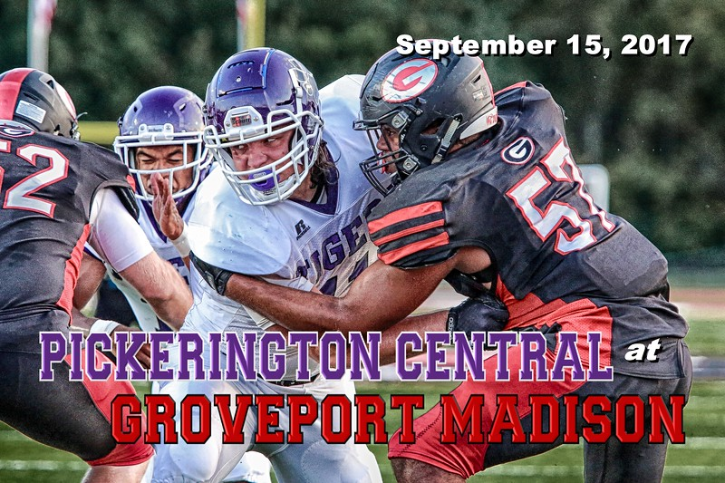 Pickerington High School Central Tigers at Groveport Madison High School Cruisers - Friday, September 15, 2017
