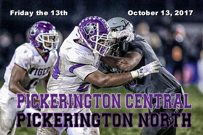 Pickerington High School Central Tigers at Pickerington High School North Panthers - Friday, October 13, 2017