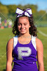PreGame with the Pickerington Central 8th Grade Cheerleaders - Waggoner Middle School Raiders of Reynoldsburg at Ridge View Middle School Tigers of Pickerington Central - 8th Grade - Thursday, September 28, 2017