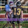 Freshmen Football - Pickerington High School Central Tigers at Watkins Memorial High School Warriors - Monday, August 20, 2018