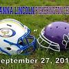 Gahanna Lincoln High School Lions at Pickerington High School Central Tigers - Thursday, September 27, 2018