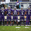 Team Captains and the Coin Toss - Gahanna Lincoln High School Lions at Pickerington High School Central Tigers - Thursday, September 27, 2018