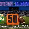 OHSAA State Playoffs - Pickerington High School Central Tigers at Hilliard Bradley High School Jaguars - Friday, November 2, 2018