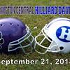 Pickerington High School Central Tigers at Hilliard Davidson High School Wildcats - Friday, September 21, 2018