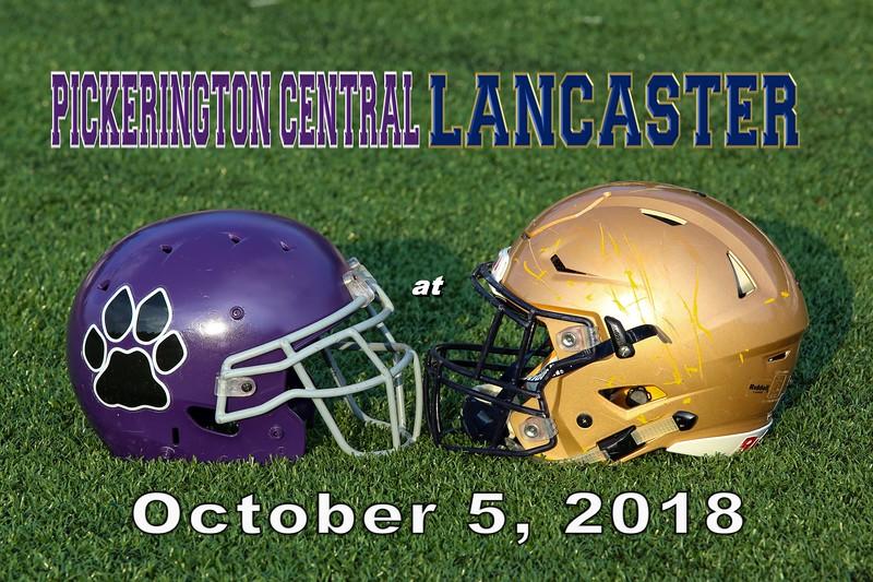 Pickerington High School Central Tigers at Lancaster High School Golden Gales - Friday, October 5, 2018