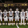 Team Captains and the Coin Toss - O.H.S.A.A. Regional Final played at Gahanna Lincoln High School - Pickerington High School Central Tigers versus Hilliard Davidson High School Wildcats - Friday, November 16, 2018
