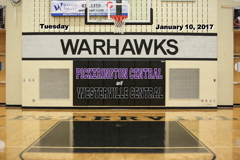 Pickerington High School Central Tigers at Westerville Central High School Warhawks - Tuesday, January 10, 2017