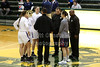 Team Captains - Ohio High School Girl's State Tournament - Pickerington High School Central Tigers versus Grove City High School Greyhounds - Played at Hamilton Township High School - Wednesday, March 1, 2017