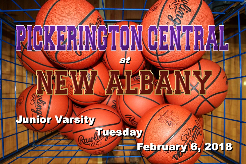 Junior Varsity - Pickerington High School Central Tigers at New Albany High School Eagles - Tuesday, February 6, 2018