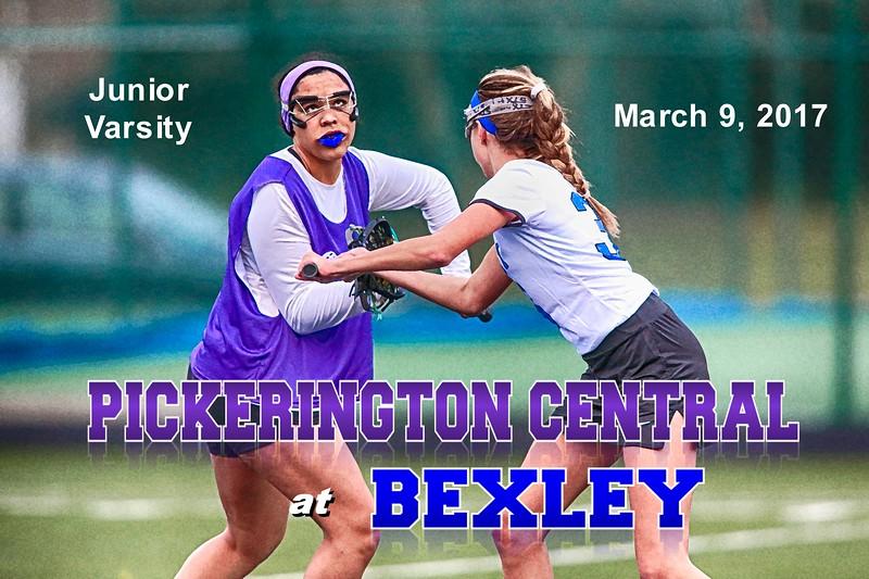 Junior Varsity - Pickerington High School Central Tigers at Bexley High School Lions - Thursday, March 9, 2017