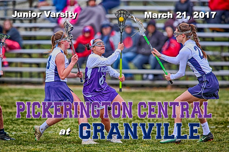 Junior Varsity - Pickerington High School Central Tigers at Granville High School Blue Aces - Tuesday, March 21, 2017