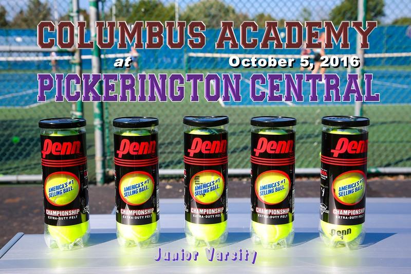 Columbus Academy High School Vikings at Pickerington High School Central Tigers - Junior Varsity - Wednesday, October 5, 2016