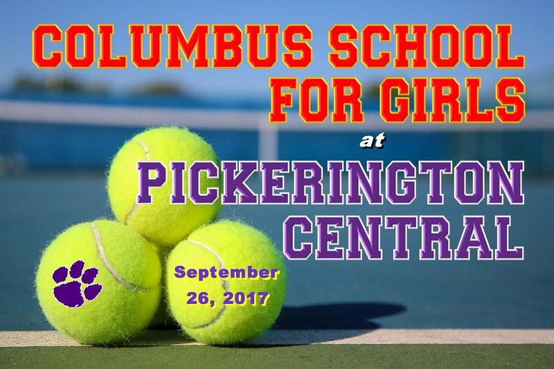 Columbus School for Girls Unicorns at Pickerington High School Central Tigers - Tuesday, September 26, 2017
