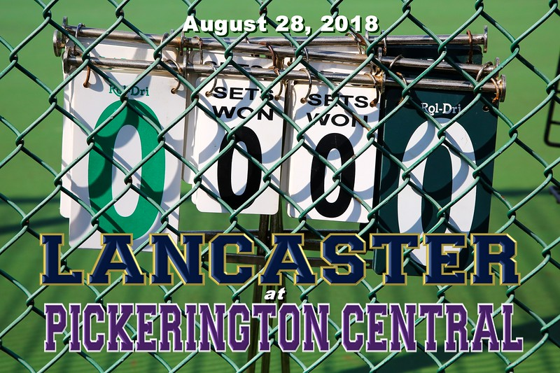 Lancaster High School Golden Gales at Pickerington High School Central Tigers - Tuesday, August 28, 2018