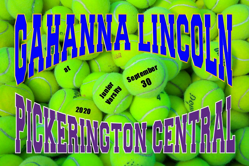 Junior Varsity - Gahanna Lincoln High School Lions at Pickerington High School Central Tigers - Wednesday, September 30, 2020