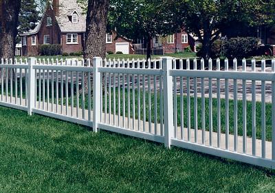 White Atlantic Fence