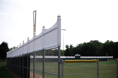 White Avondale Fence