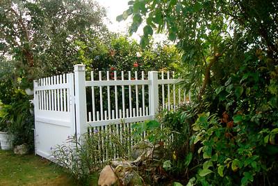White Brighton Fence