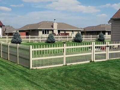 Almond Brighton Fence