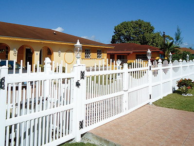 White Dalton Fence