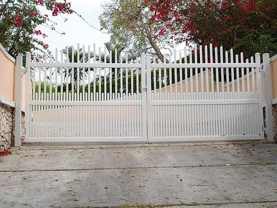 White Dawson Fence