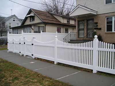 Lakeland and Hampton Scalloped Fence