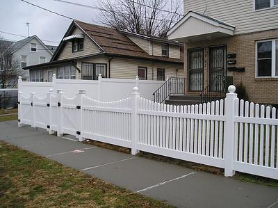 Lakeland and Hampton Scalloped Fence
