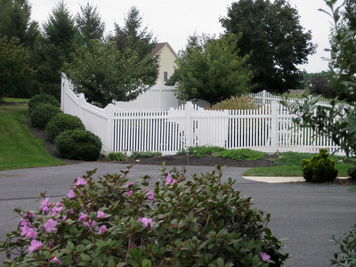 Hampton Step Fence