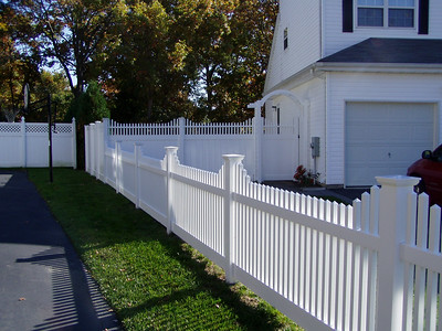 Hampton Step and Montauk Point Step Fence