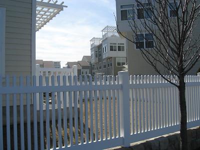 Hampton Straight Fence