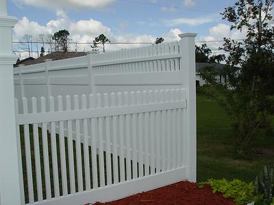 Hampton Straight and Montauk Point Straight Fence
