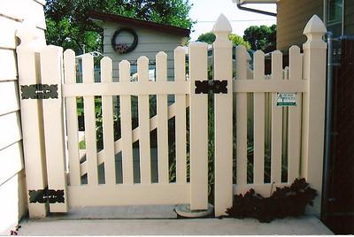 Almond Potomac Fence